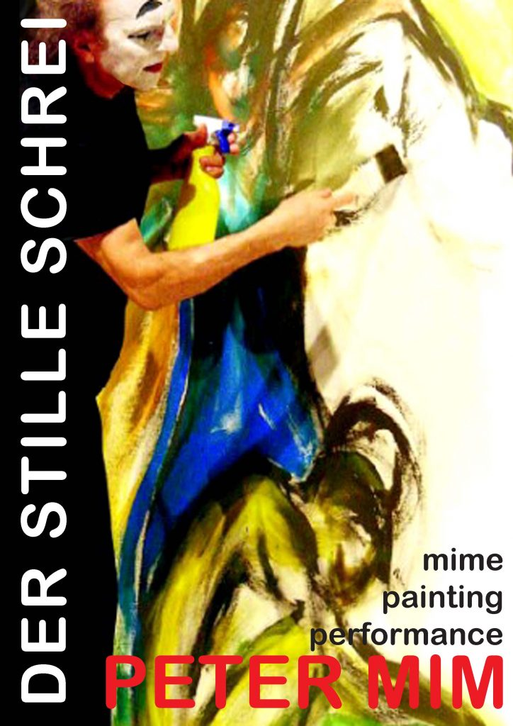 Pantomime- Painting- Performance